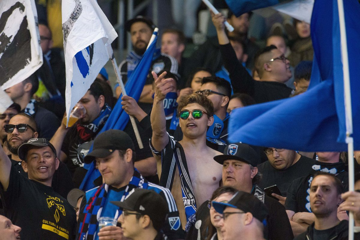 Who wasn't carded during LAvSJ? ABOVE: A San Jose Ultra reacts after receiving a Red for removing his shirt during LAvSJ. The ball also got one for being round, soon after water was cautioned for being wet.