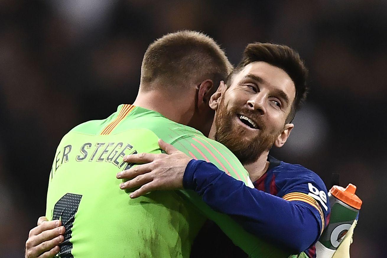 Messi & Ter Stegen up for FIFA The Best Awards