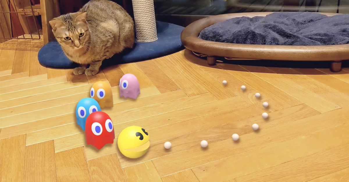Google adds Pac-Man, Hello Kitty, Gundam mechs and more to AR searches