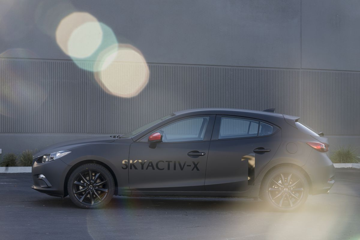 Either way, the SkyActiv-X is designed to work with future electrified  efforts and cooperate with Mazda's pledge to make its semi-autonomous  driving system ...