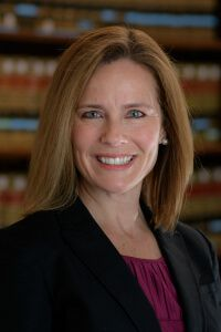 Amy Coney Barrett. Photo from University of Notre Dame Law School web site.