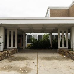 The former Granville T. Woods Math & Science Academy Elementary School, Monday, Oct. 26, 2020.
