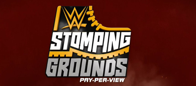 The WWE Stomping Grounds logo is incredible - Cageside Seats