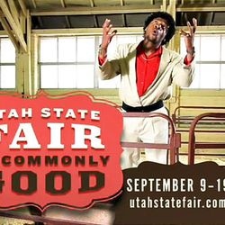 Frame grab from a commercial which was produced for the Utah State Fairpark to promote the 2010 Utah State Fair and was subsequently pulled from broadcast by fair administrators.
