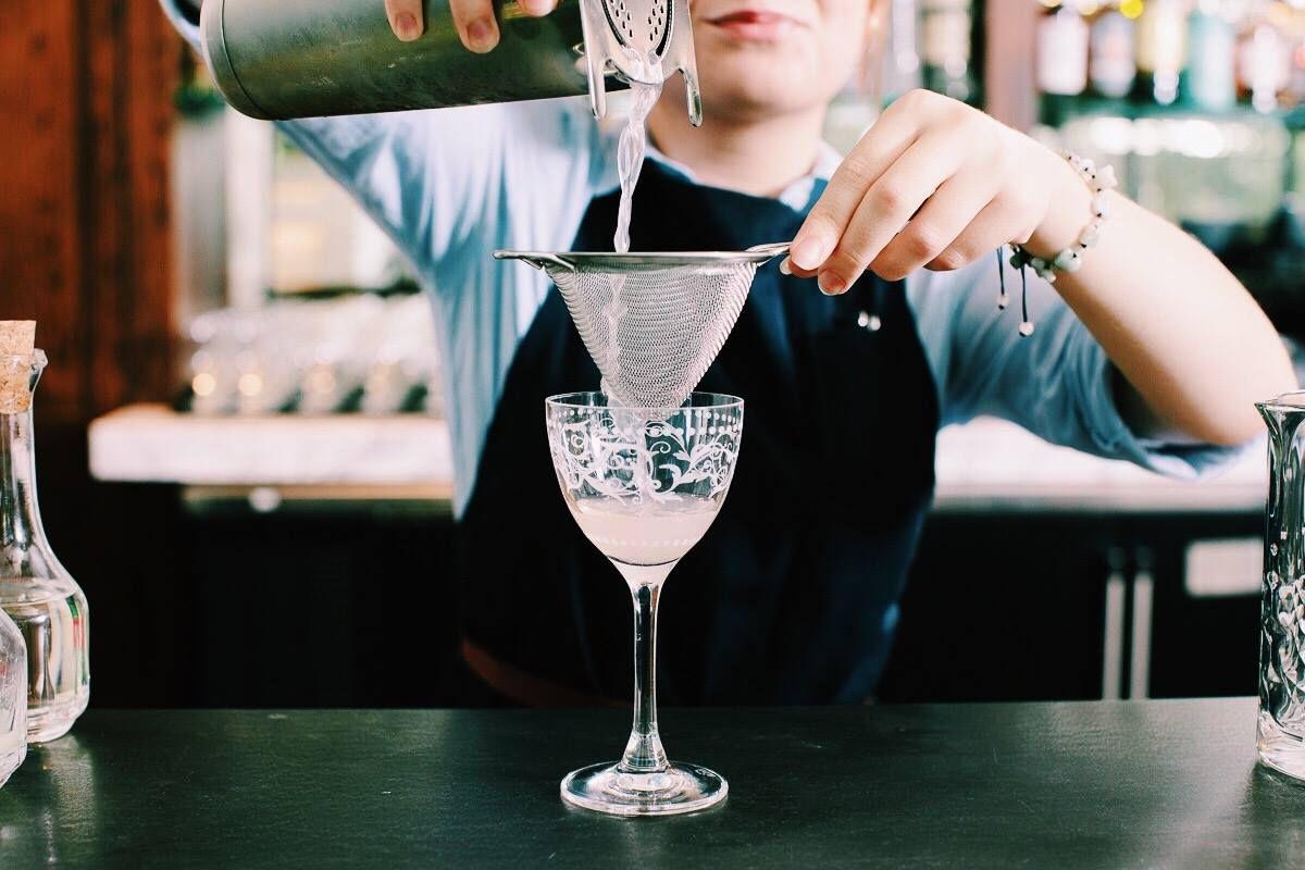 A cocktail at Le Politique