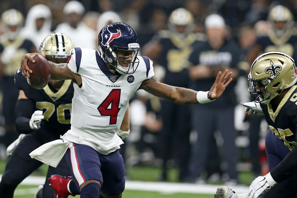 save off 5458b df863 Drew Brees and Deshaun Watson Just Traded Heroics in the ...