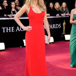 Jennifer Lawrence at the Academy Awards in 2011.