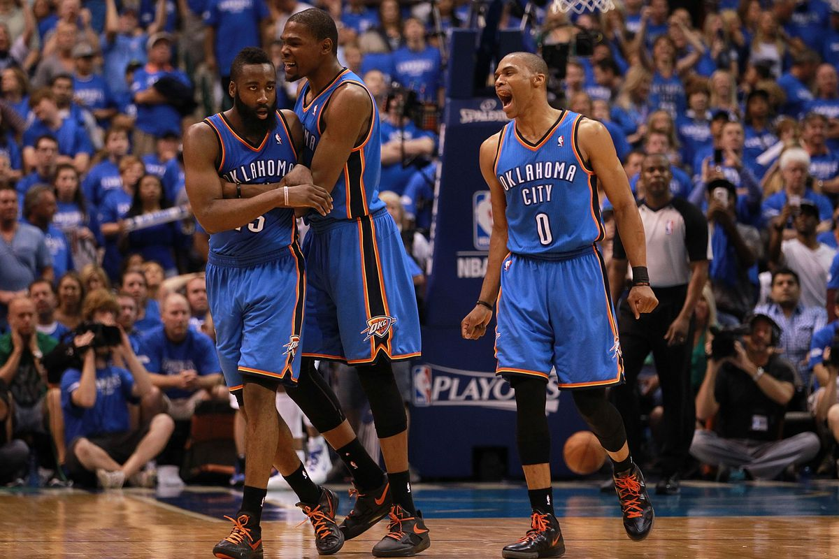 4fe7b6cac121 Kevin Durant s departure seals the end of a Thunder dynasty that never was