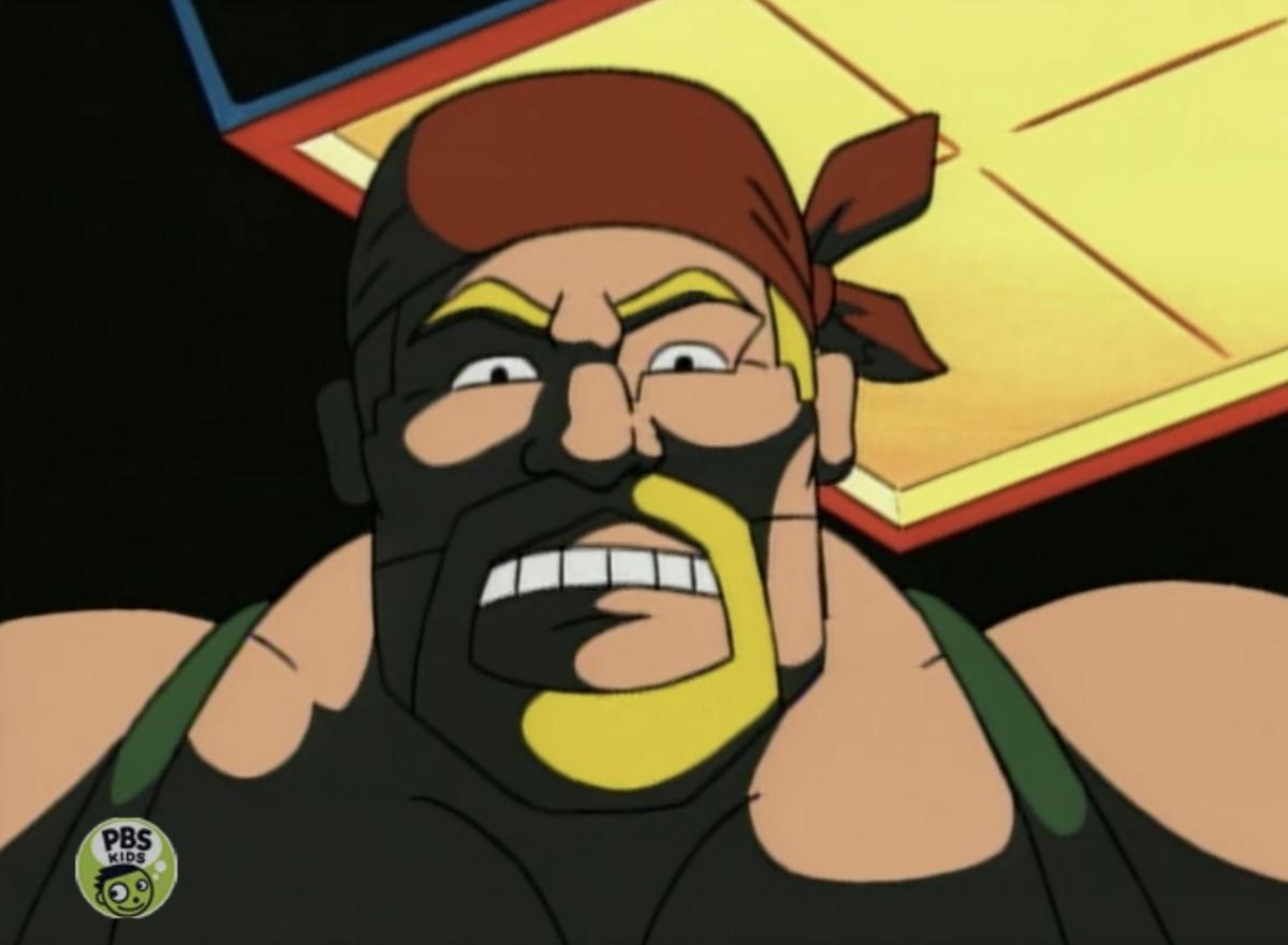 an animated hulk hogan