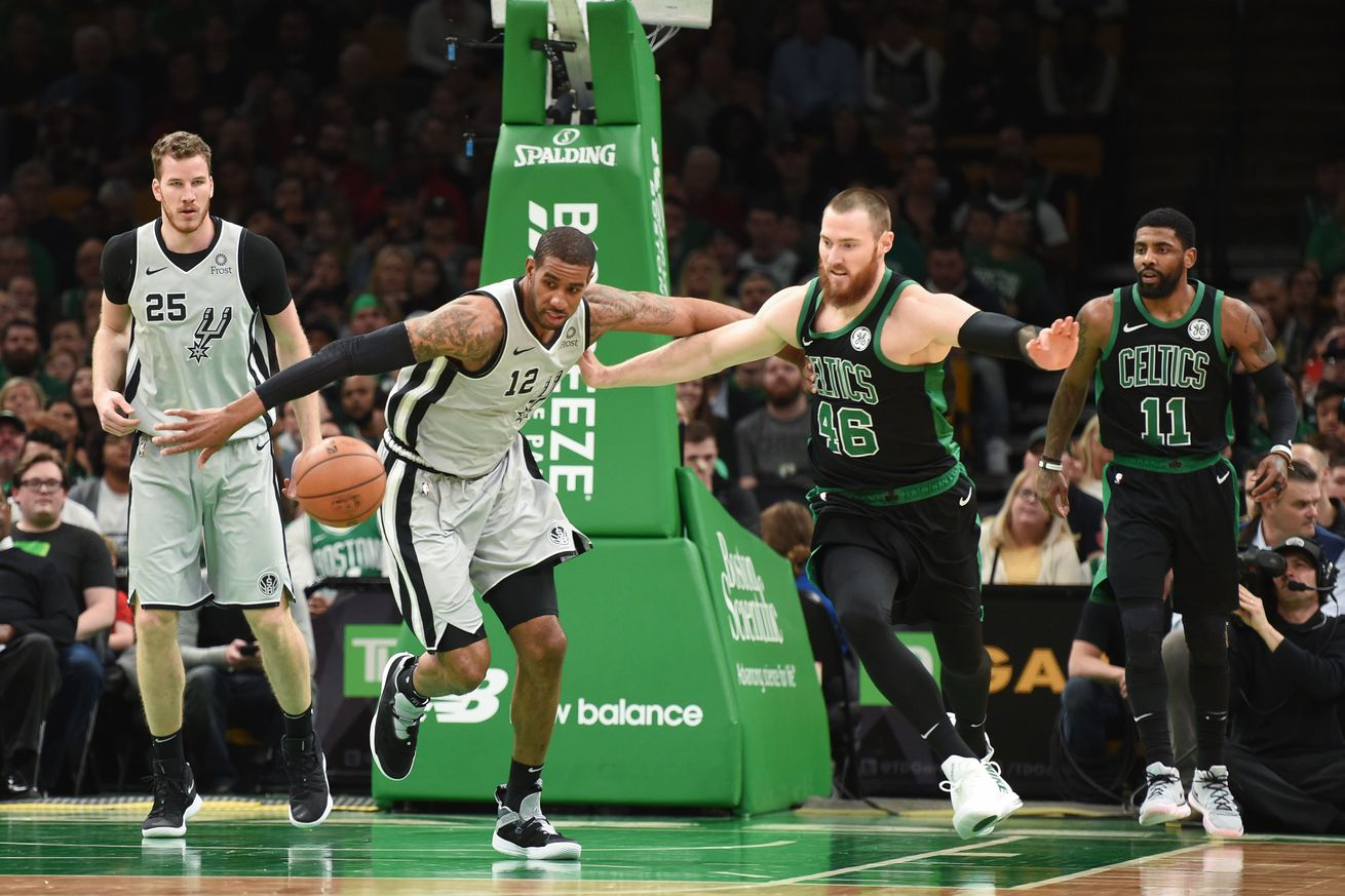 What we learned from the Spurs win over the Celtics