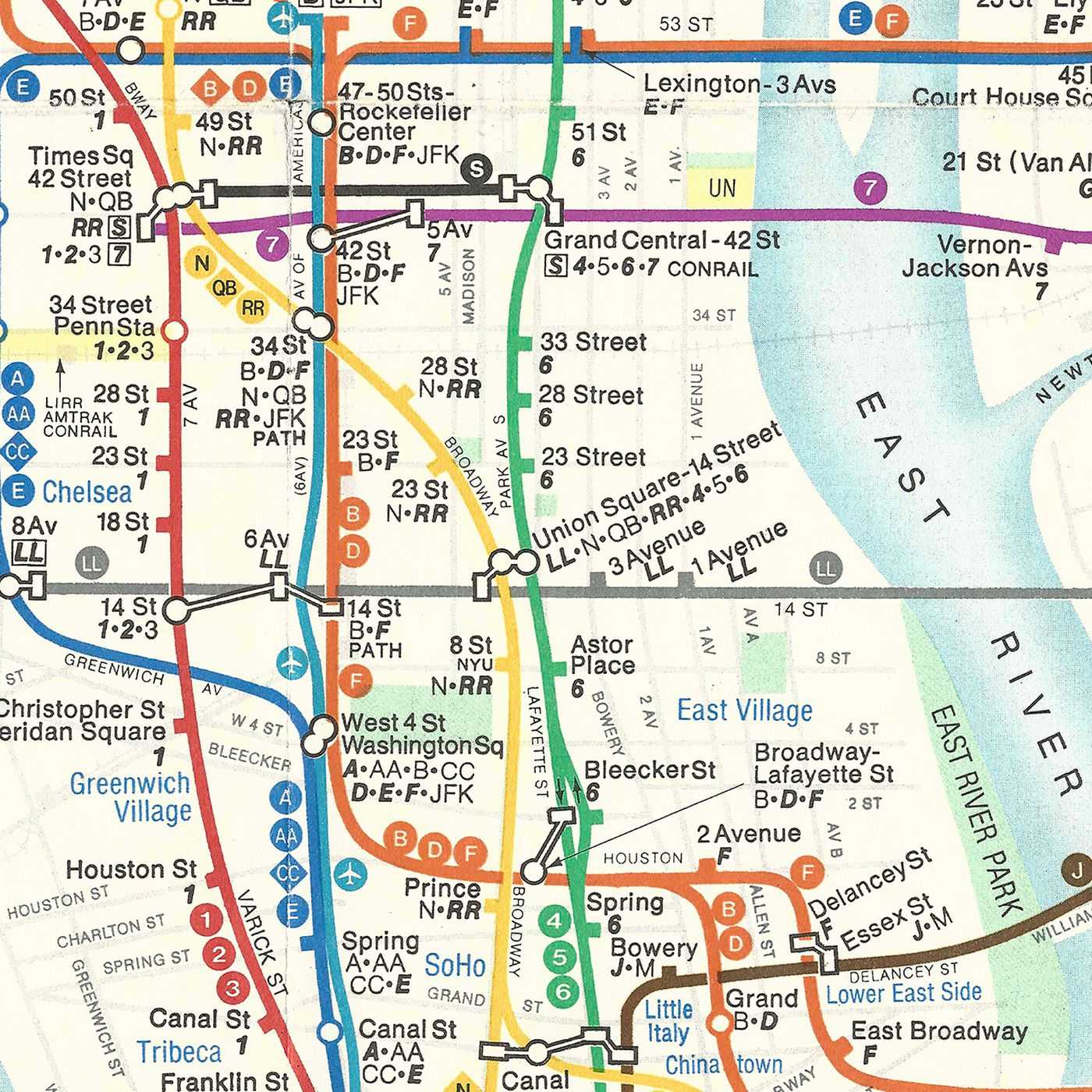 Massimo Vignelli Subway Map 1978.The Great Subway Map War Of 1978 Revisited The Verge