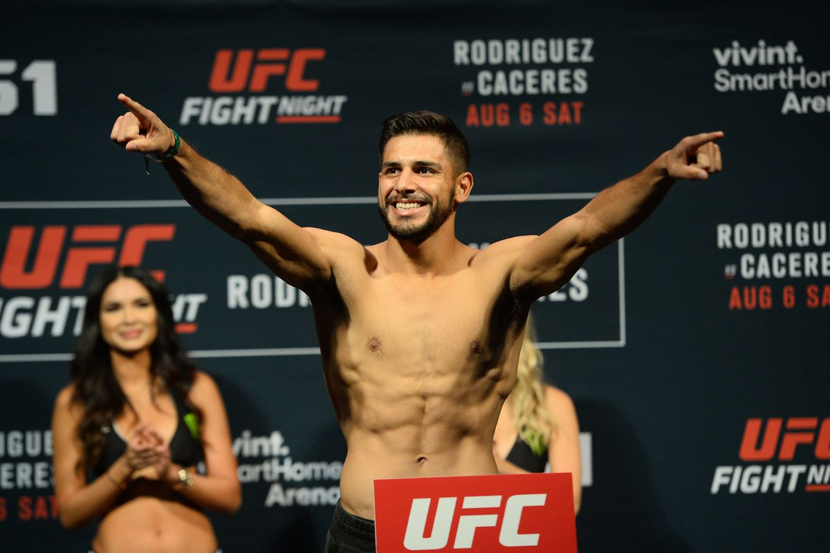 MMA: UFC Fight Night-Rodriguez vs Caceres-Weigh Ins
