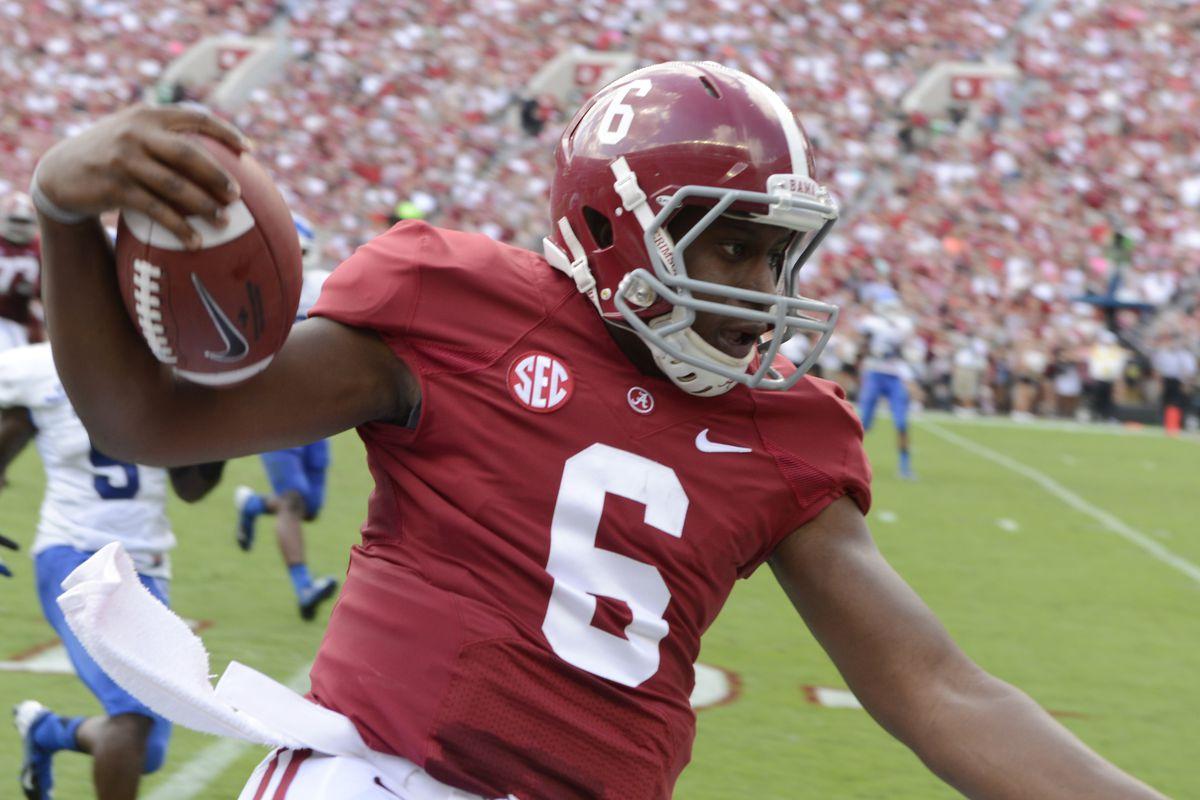 Is Blake Sims Alabama's future starting quarterback?
