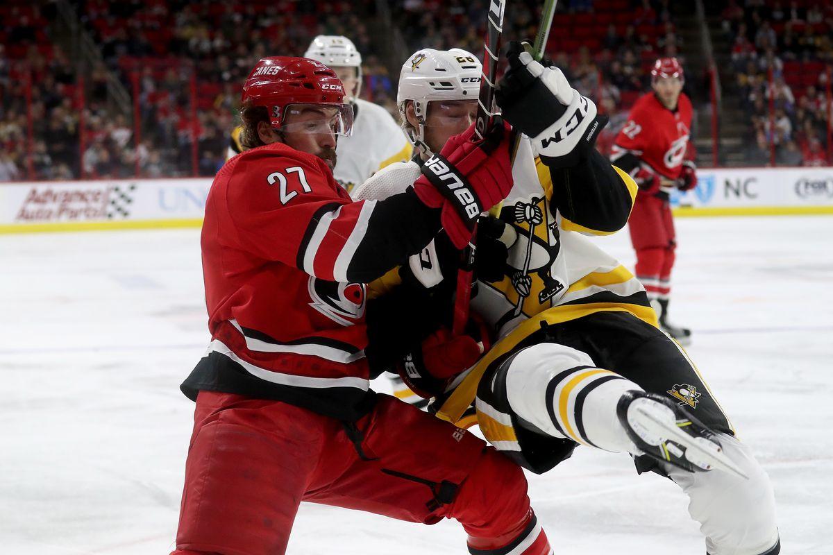 Pittsburgh Penguins v Carolina Hurricanes