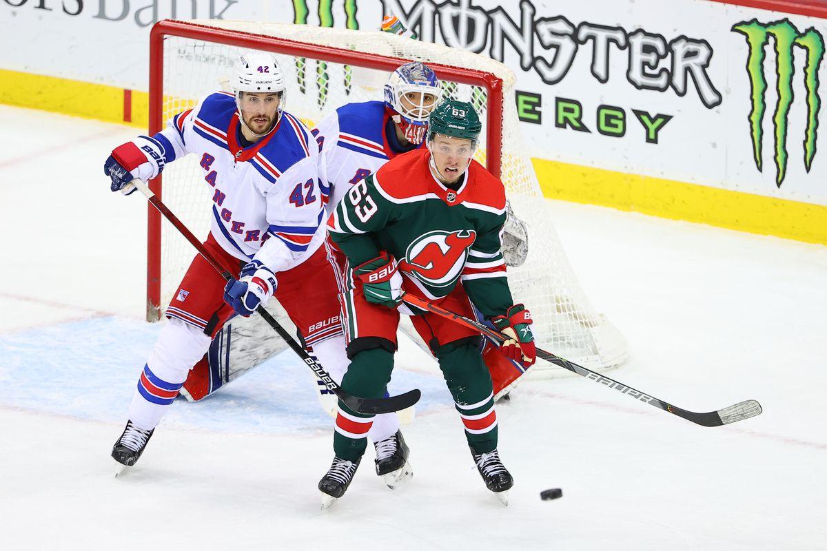 NHL: MAR 06 Rangers at Devils