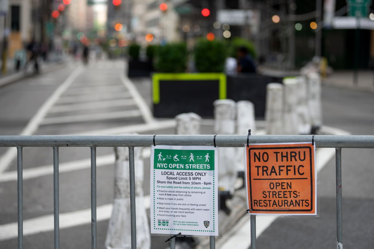 Popular NYC Open Streets Program Is Now Accepting Applications for 2021  Season - Eater NY