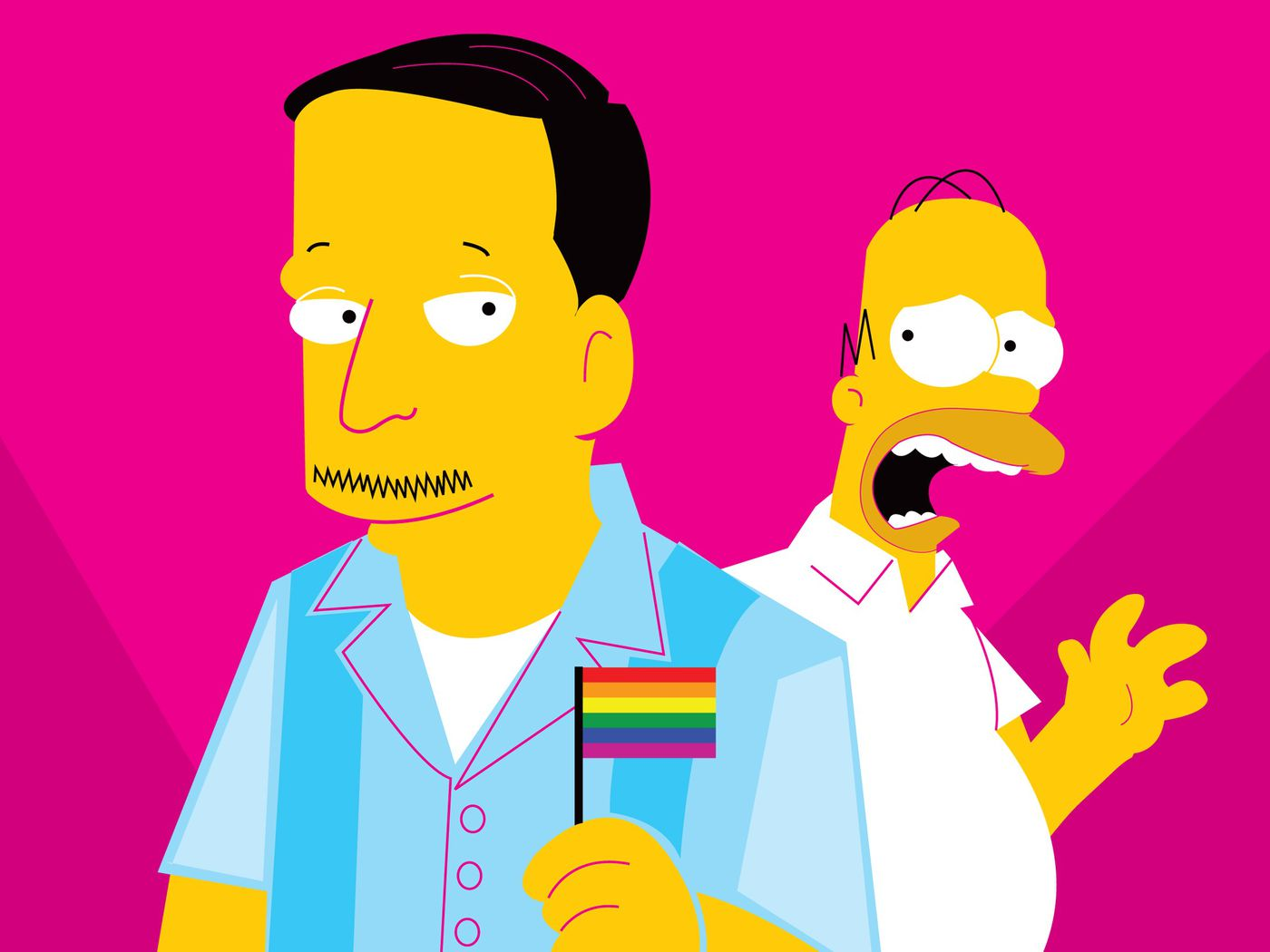 My Uncle Found This Guy On The Road Gay Porn when 'the simpsons' came out of the closet - the ringer