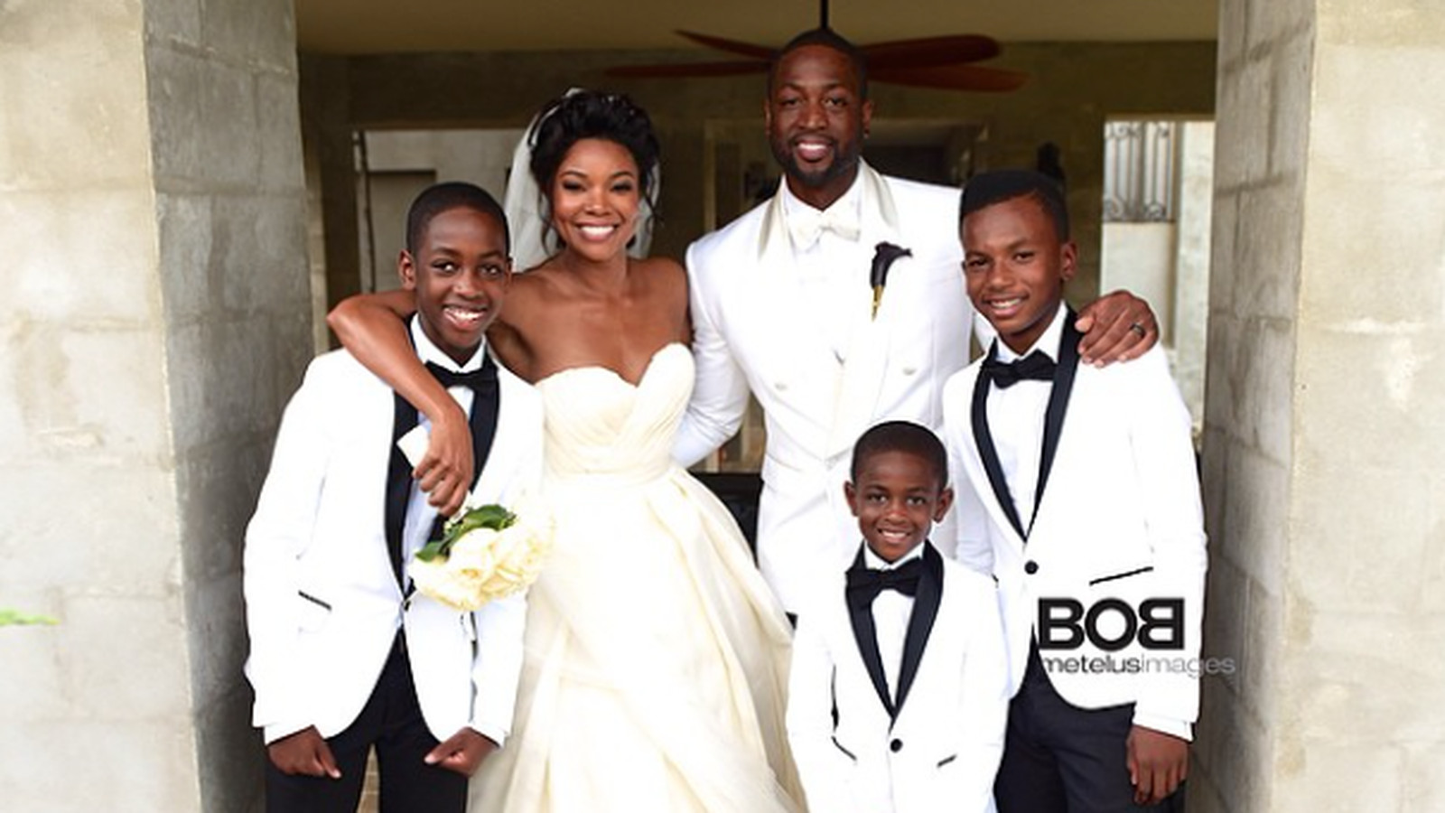 A look at the guest list from Dwyane Wade and Gabrielle Union's wedding - Hot Hot Hoops