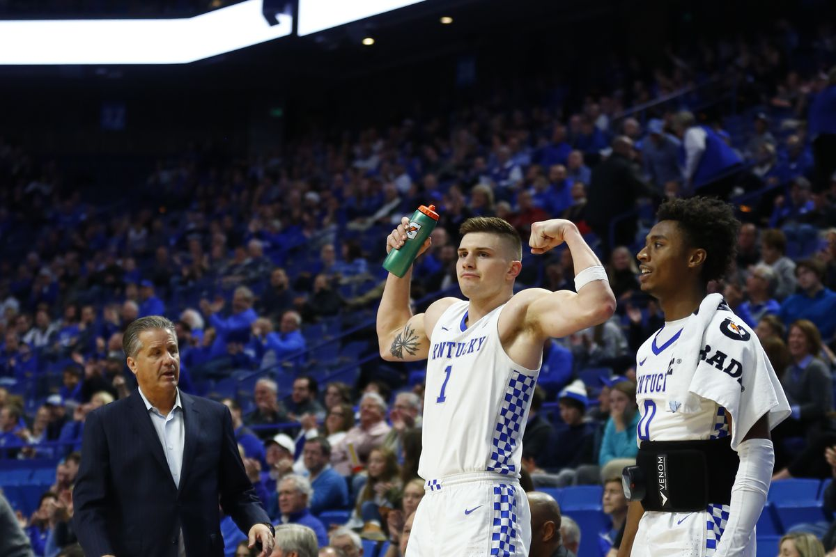 College Basketball Rankings Kentucky New No 1 In Ap Poll