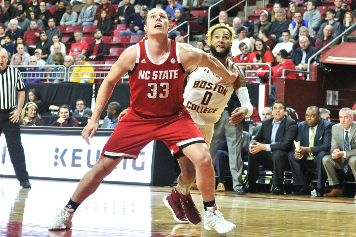 COLLEGE BASKETBALL: MAR 09 NC State at Boston College