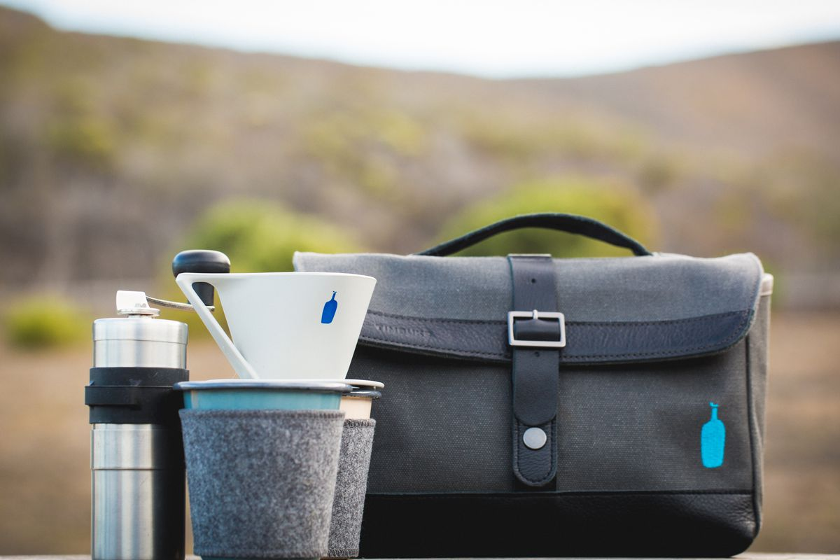 Timbuk2 x Blue Bottle Coffee Travel Kit, $179. Photo: Alicia Cho
