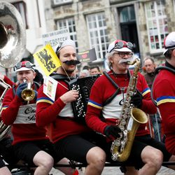 the brass band