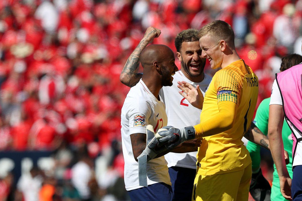 Switzerland vs England - UEFA Nations League Third-place match