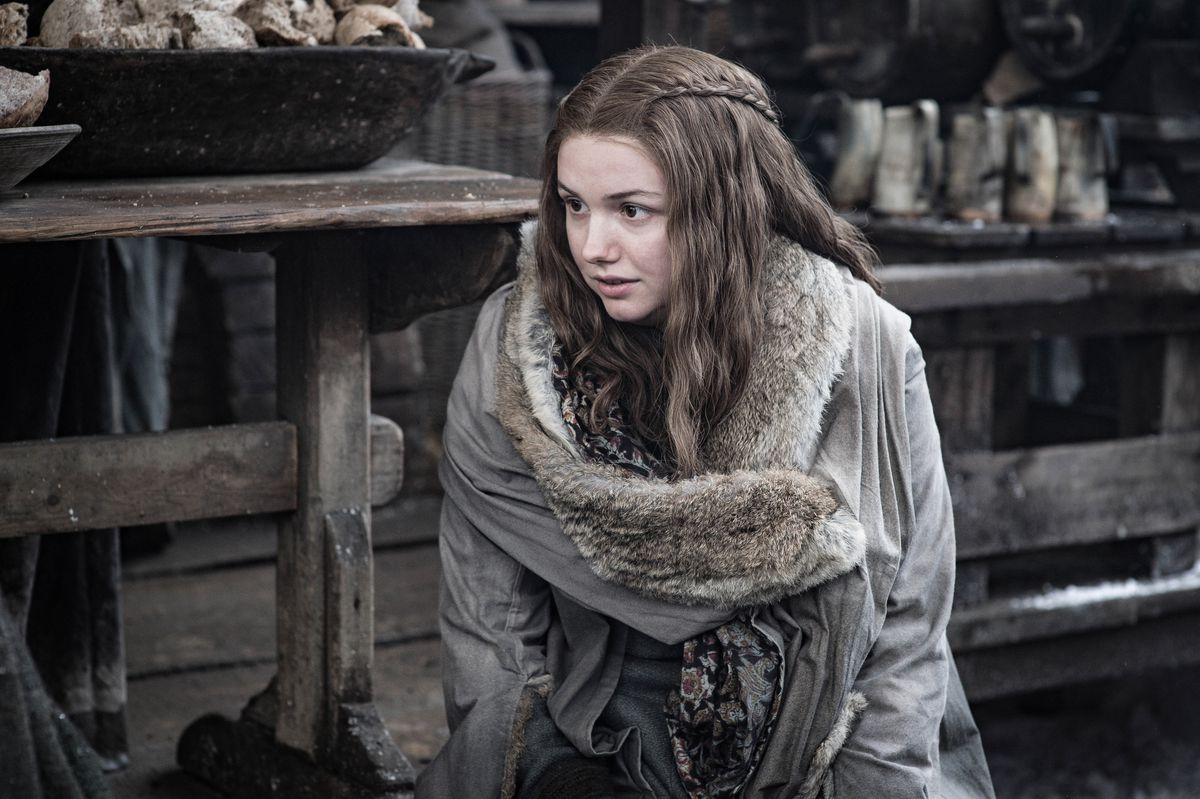 Game of Thrones season 8 episode 2 - Gilly at Winterfell