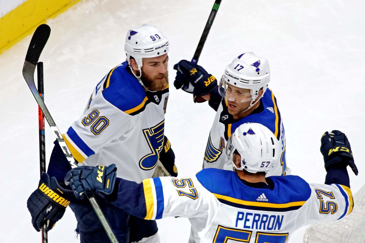 NHL: Stanley Cup Playoffs-St. Louis Blues at Vancouver Canucks