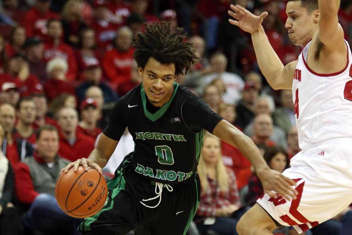 NCAA Basketball: North Dakota at Wisconsin