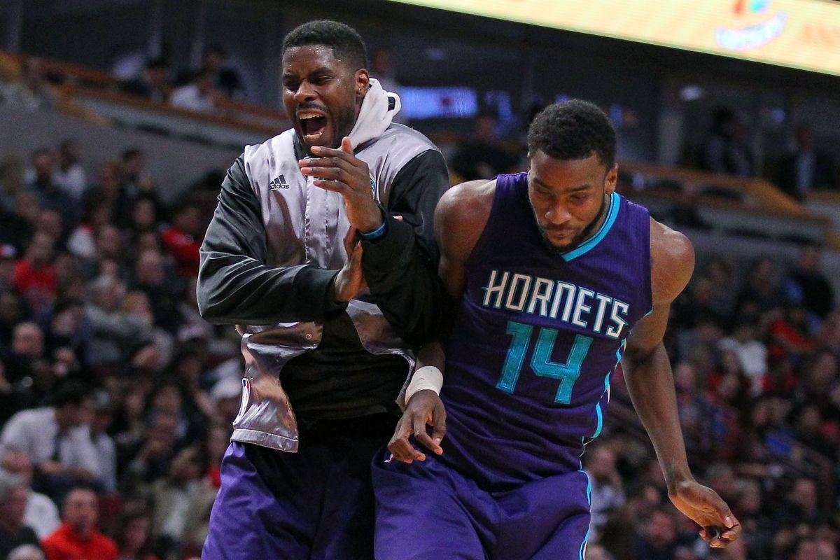 Marvin Williams and Michael Kidd-Gilchrist