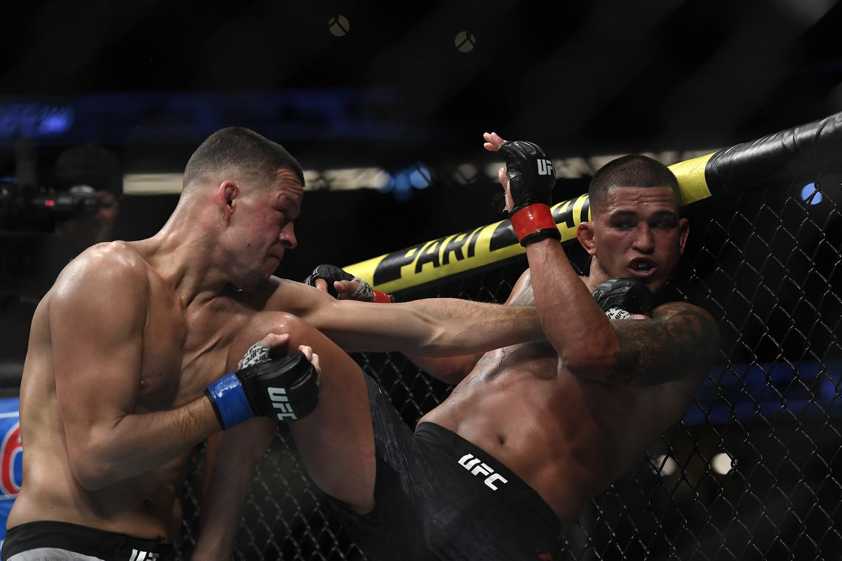 Midnight Mania! UFC trademarked the phrase 'BADDEST MOTHERF****R' ahead of Nate Diaz vs. Jorge Masvidal title…