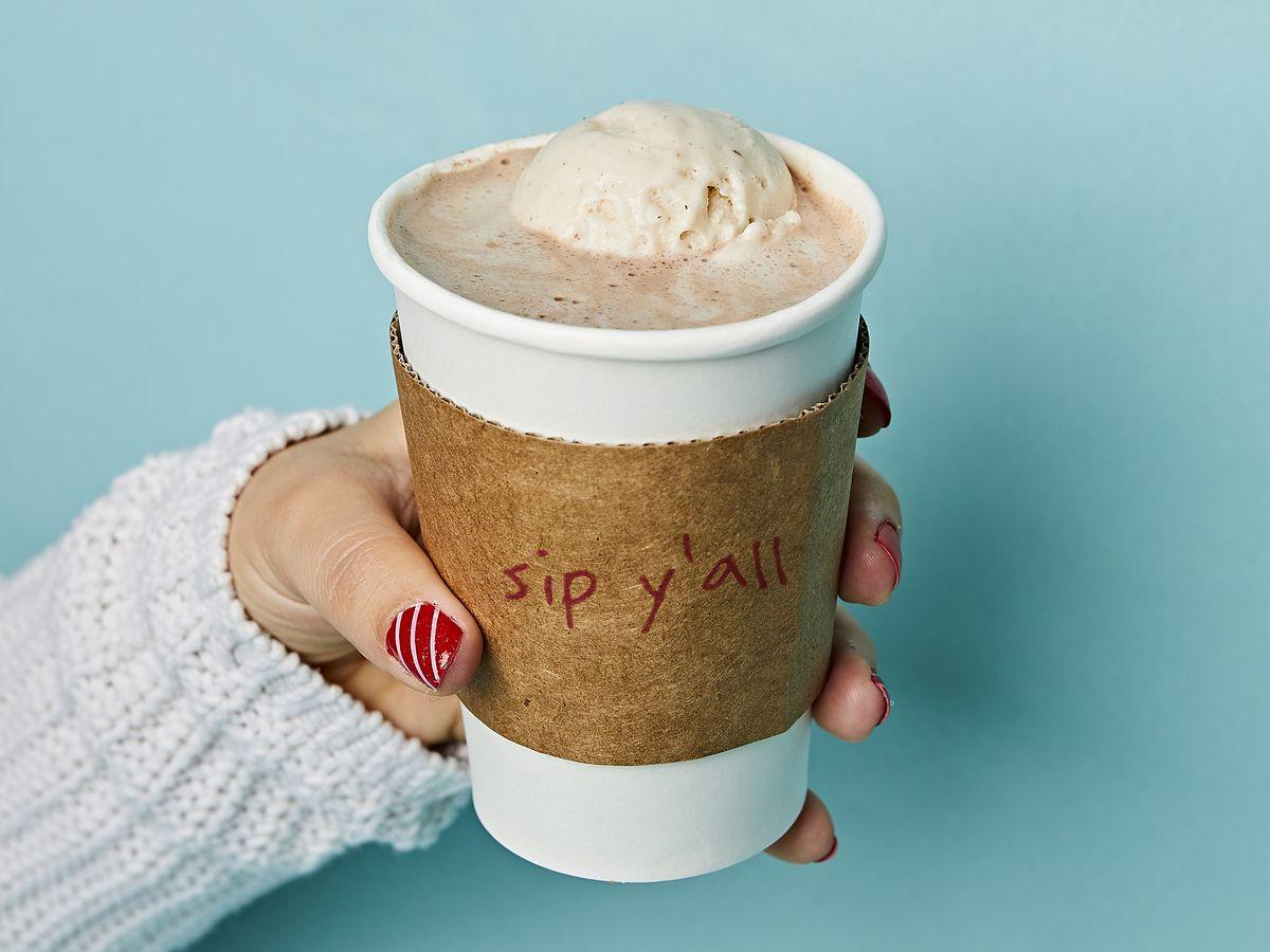 Lick Honest Ice Cream's hot chocolate
