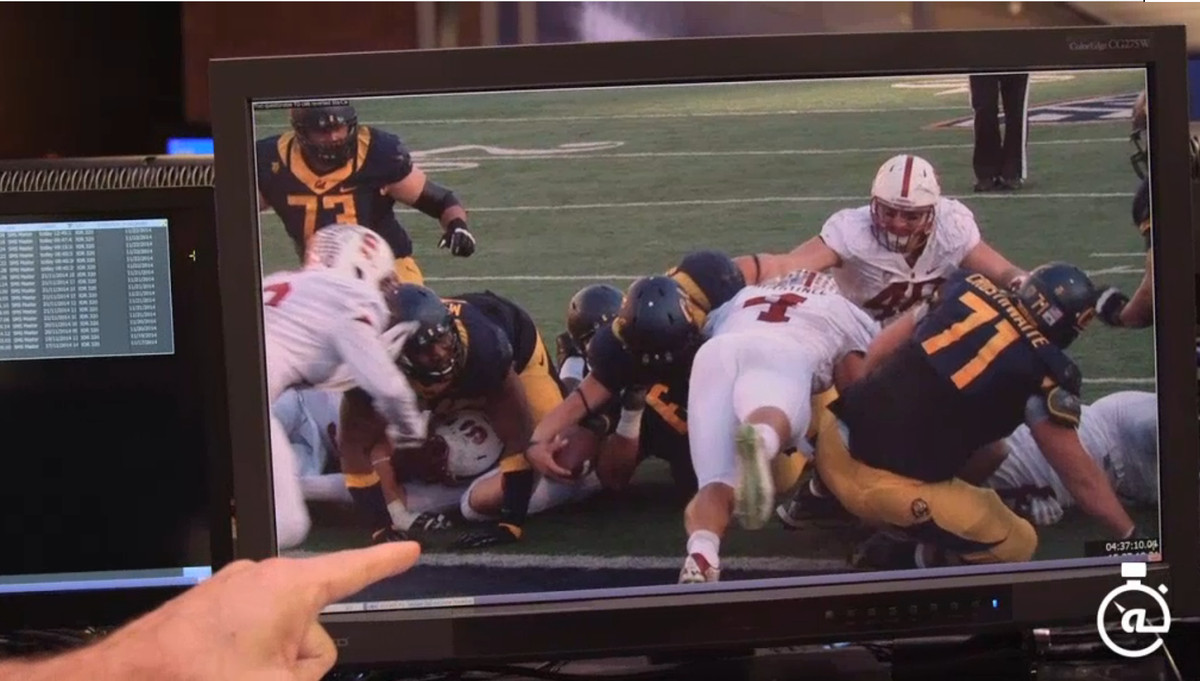 Luke Rubenzer touchdown