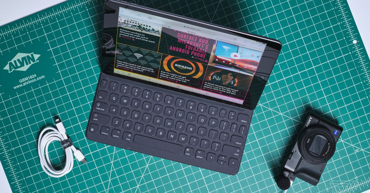 Slim keyboards for your iPad, Xbox accessories, and more are discounted today