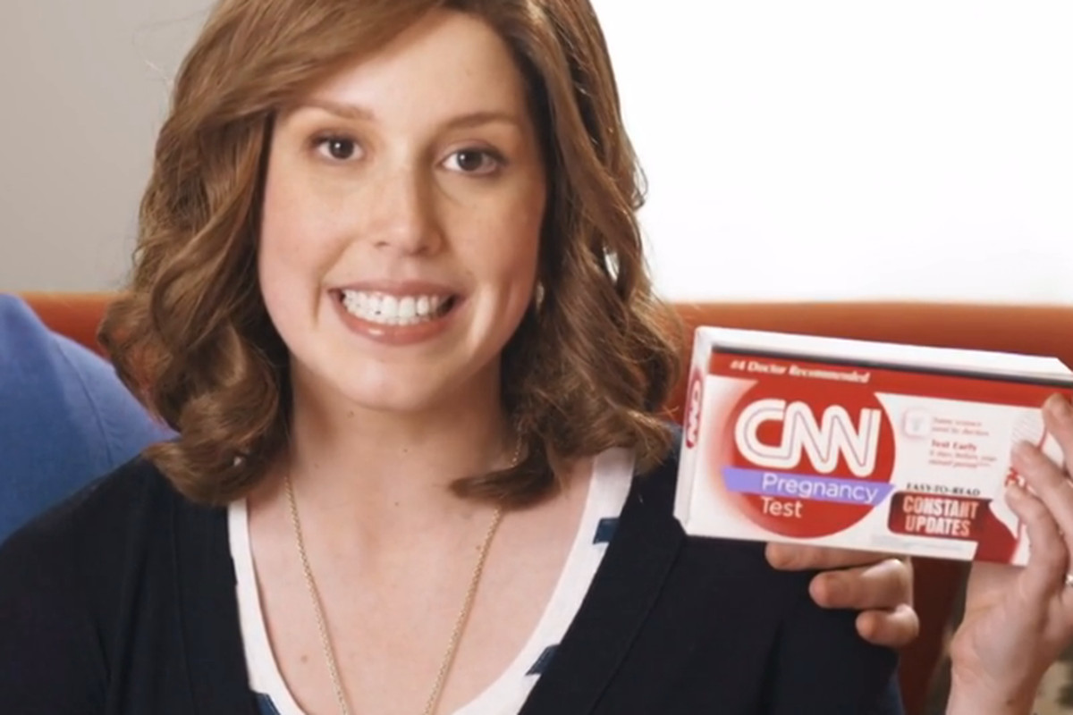 """Saturday Night Live"" Unveils the CNN Pregnancy Test"