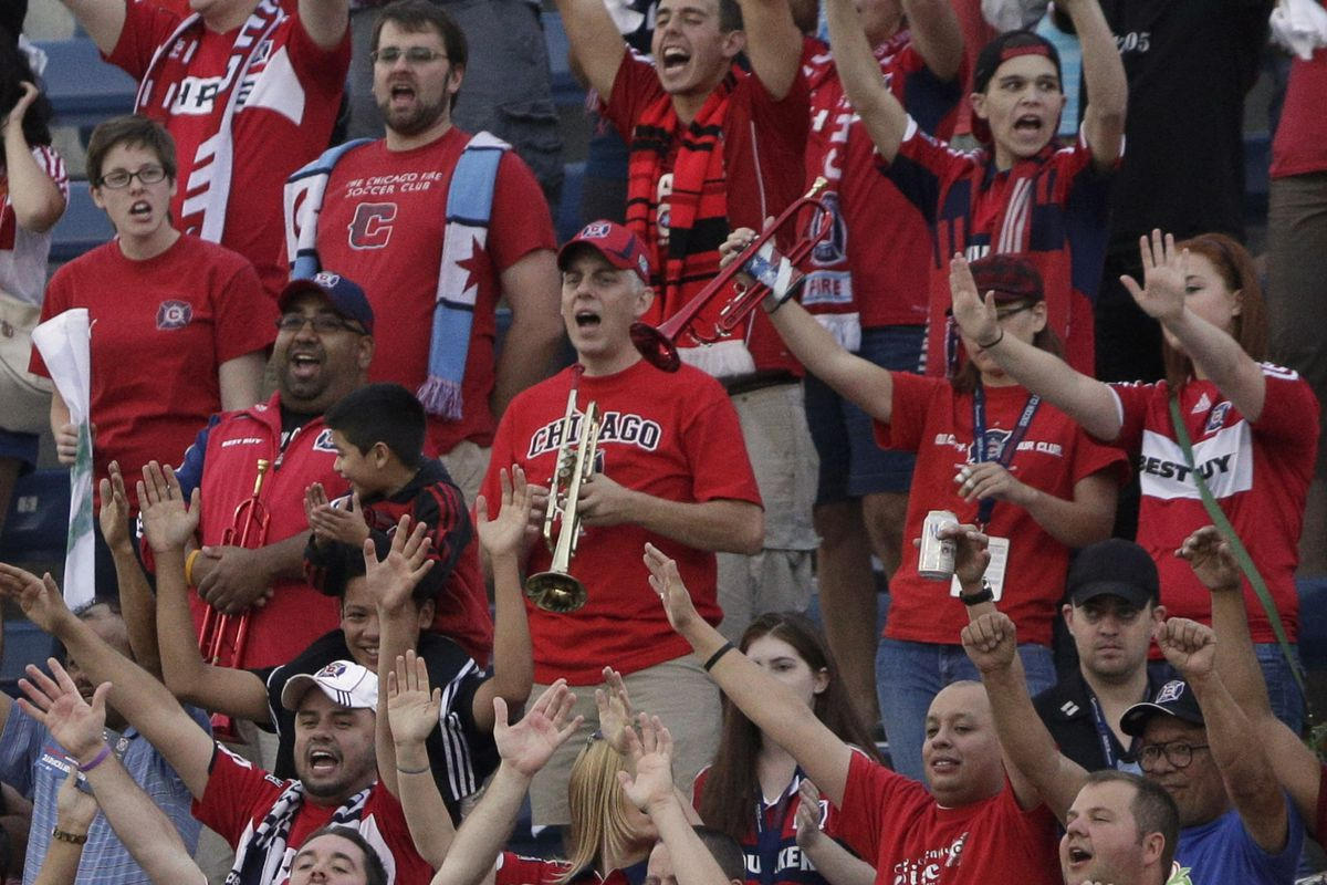 Would Chicago Fire fans be willing to embrace a new...well, old Chicago anthem that was recently rediscovered?