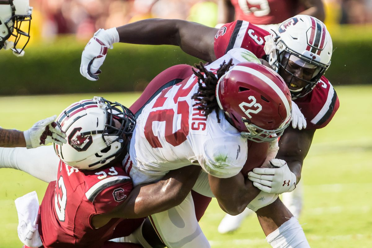 NCAA Football: Alabama at South Carolina