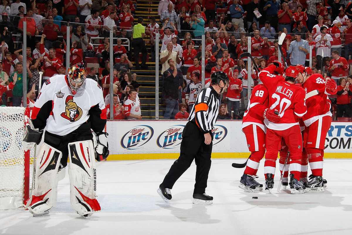 The Ottawa Senators haven't gotten the desired results in the team's first two games of the 2011-12 season, but there have been positive signs nonetheless.