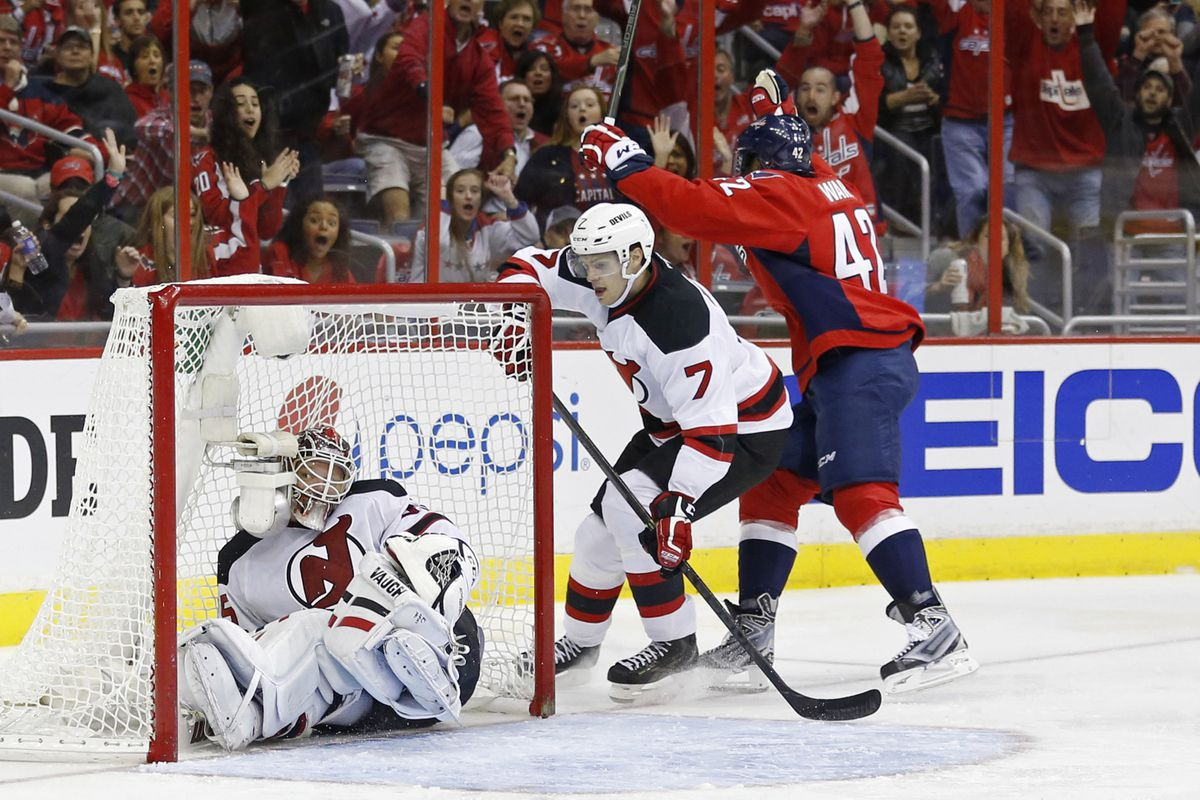 The last Devils-Capitals game was the opposite of fun to watch.