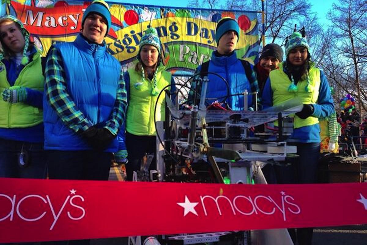 Robot Macy's Parade