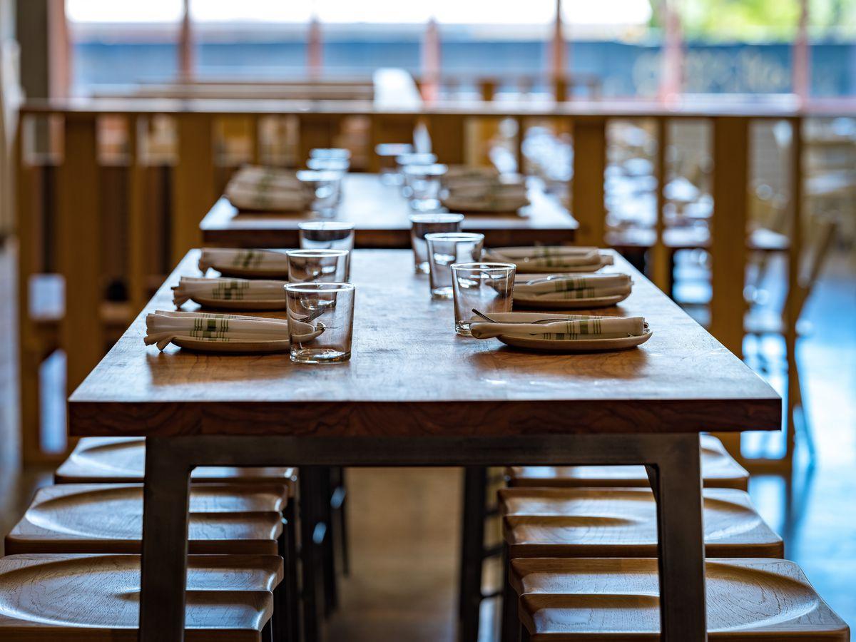 Tables at Suerte