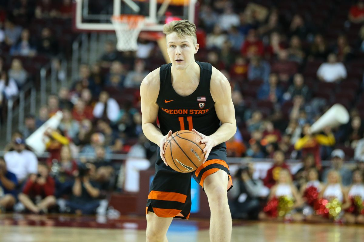 COLLEGE BASKETBALL: FEB 17 Oregon State at USC