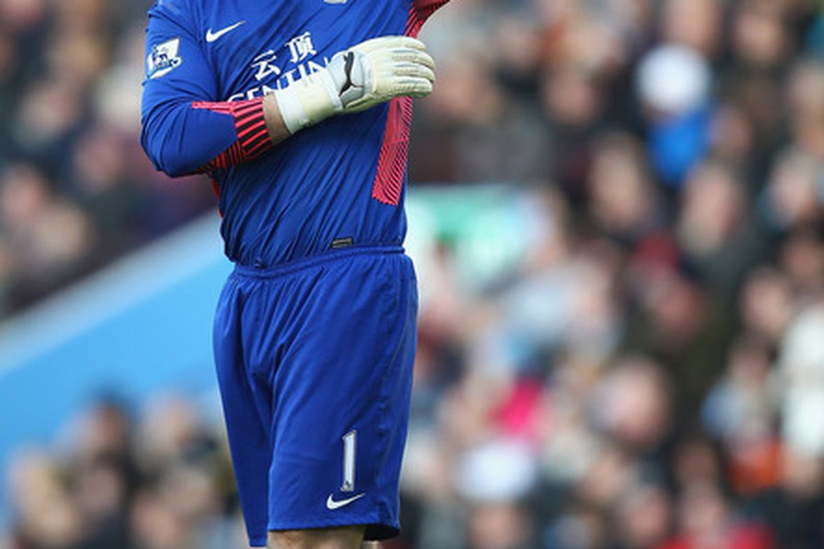 Take an aerobics class led by Shay Given. (Photo by Clive Mason/Getty Images)
