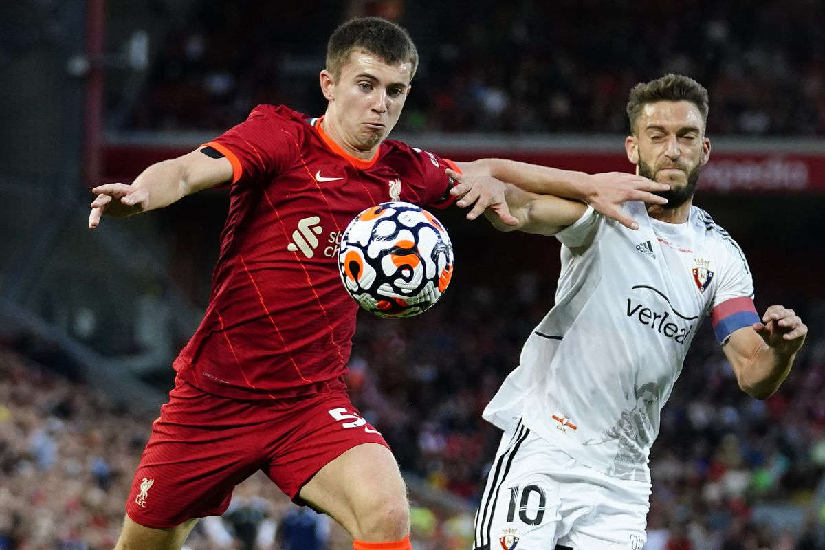 Liverpool v Osasuna - Pre-Season Friendly - Anfield
