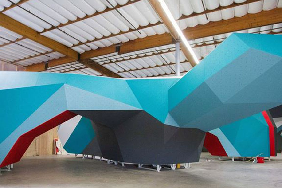 Culver City's in-the-works climbing gym.