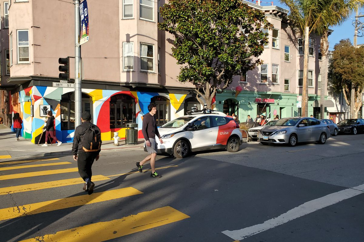 Mission District Self Driving Car