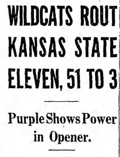 1941 Northwestern-Kansas State
