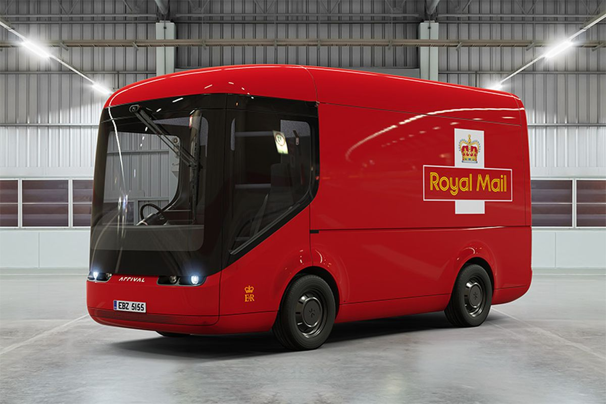 Mail Truck For Sale >> Royal Mail introduces electric delivery vehicles in the U ...