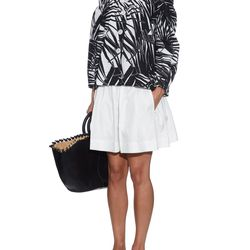 An extra wide cotton pair from Marc Jacobs borrows the shape of a skirt, with the practicality and comfort of shorts.